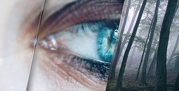 پروژه ترانزیشن شیشه ای ترانزیشن ویدئویی افترافکت پریمیر آموزش