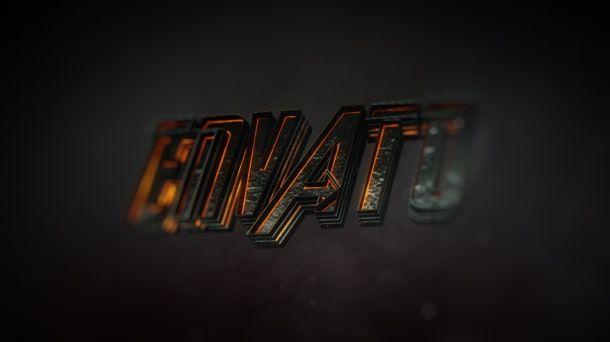 پروژه افترافکت تریلر سینمایی Cinematic Trailer - Movie Trailer And Logo Opener 3D