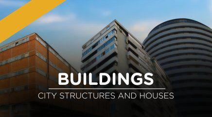 دانلود تصاویر مت پینتینگ Matte Painting Set Extensions Buildings