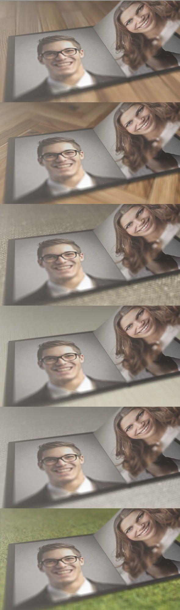 قالب آماده افترافکت عکس آلبوم دیجیتال photoBook