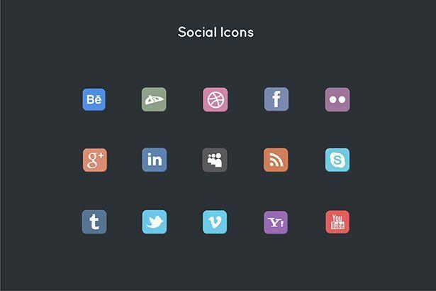 دانلود آیکن پریمیر شبکه اجتماعی Pixity Animated Icons for Premiere Pro