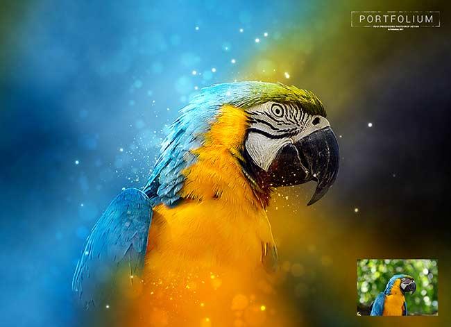 دانلود اکشن حرفه ای فتوشاپ portfolium post processing photoshop action