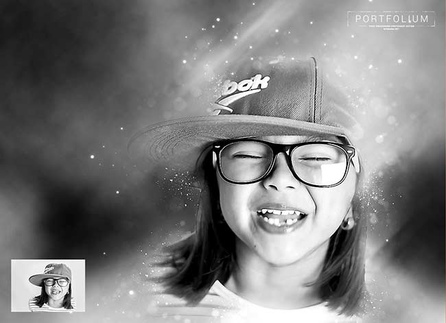 دانلود رایگان اکشن portfolium post processing photoshop action