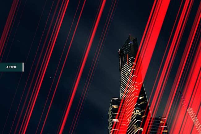 دانلود افکت نور برای ادیوس Pro LIGHT LEAKS 95 Photoshop Bundle