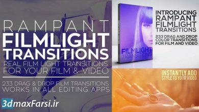 دانلود ترانزیشن های نوری پریمیر برای ادیوس FilmLight Transitions