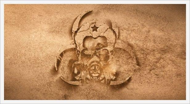 دانلود پروژه لوگو افتر افکت videohive Sand Logo Opener