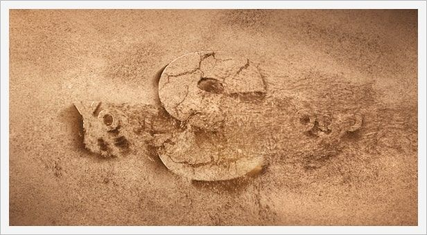 دانلود پروژه موشن گرافیک افتر افکت videohive Sand Logo Opener