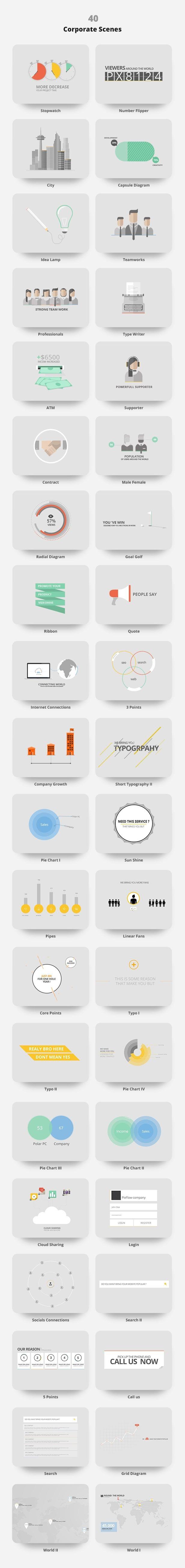 دانلود پکیج تایپوگرافی پریمیر (خدمات سئو شرکتی) حرفه ای با کیفیت بالا