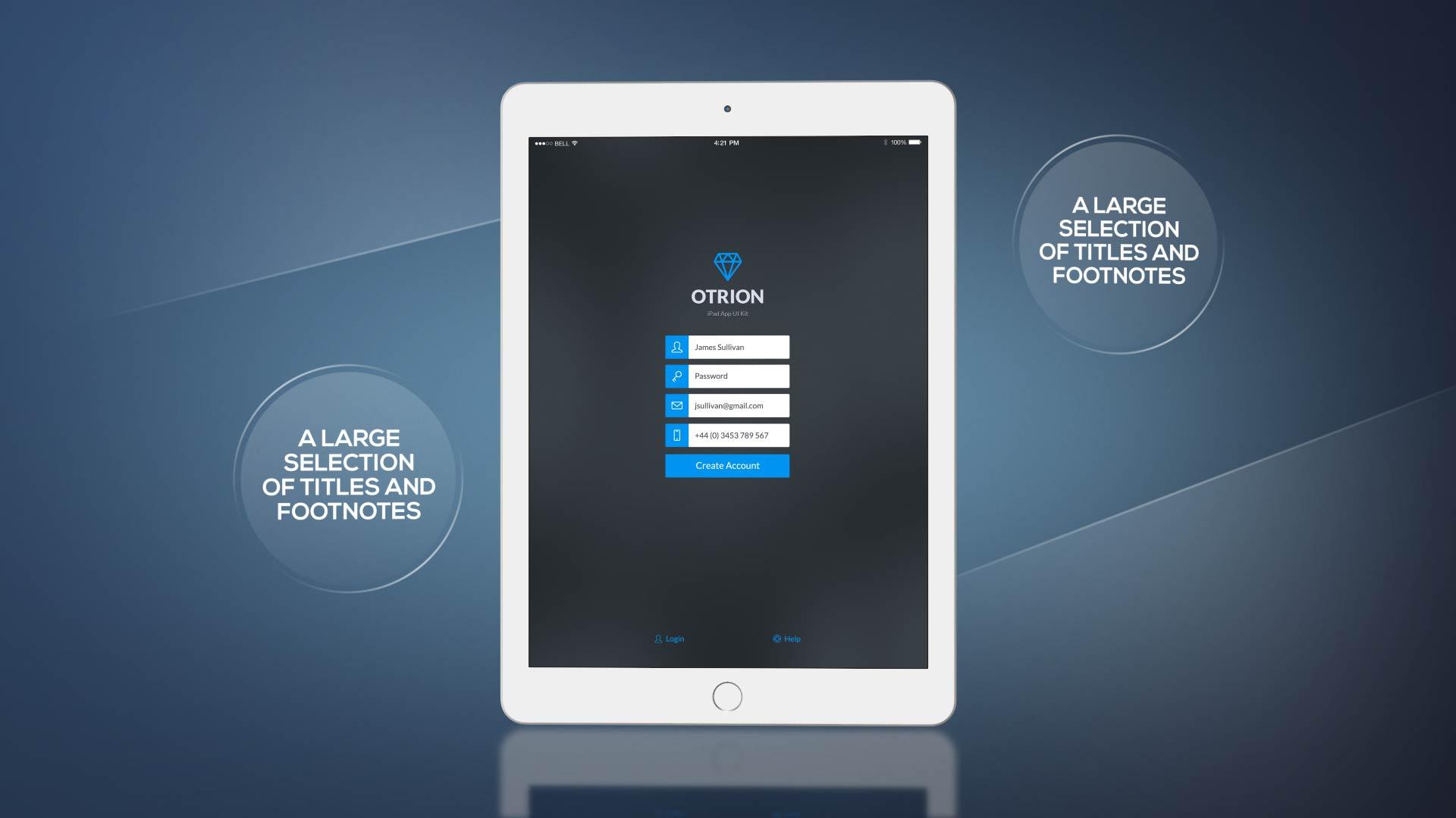 پروژه افترافکت پرزنتیشن حرفه ای تبلت Tablet Presentation Pack