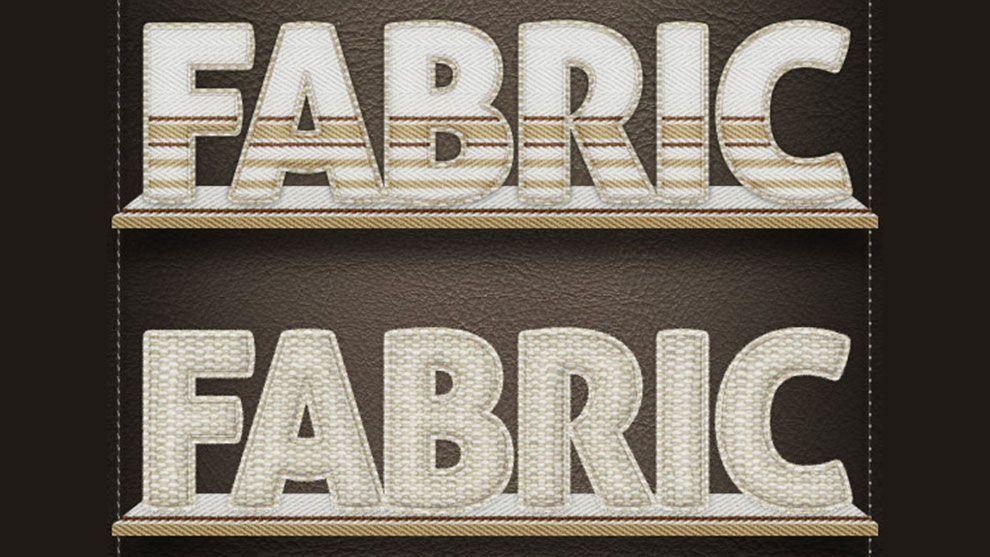 دانلود graphicriver : text fabric styles