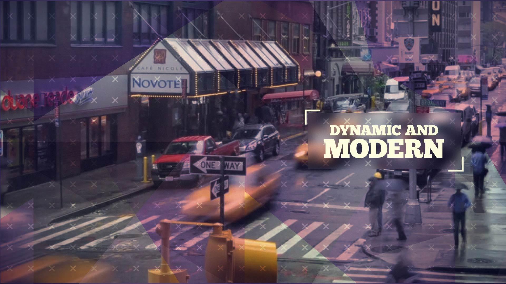 ساخت تیزر پروموی مدرن و دینامیک Trendy Dynamic Opener