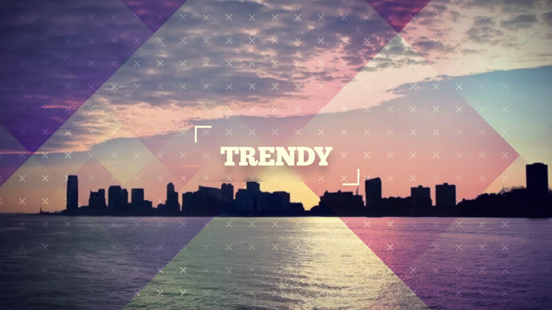 دانلود پروژه افترافکتvideohive : Trendy Dynamic Opener