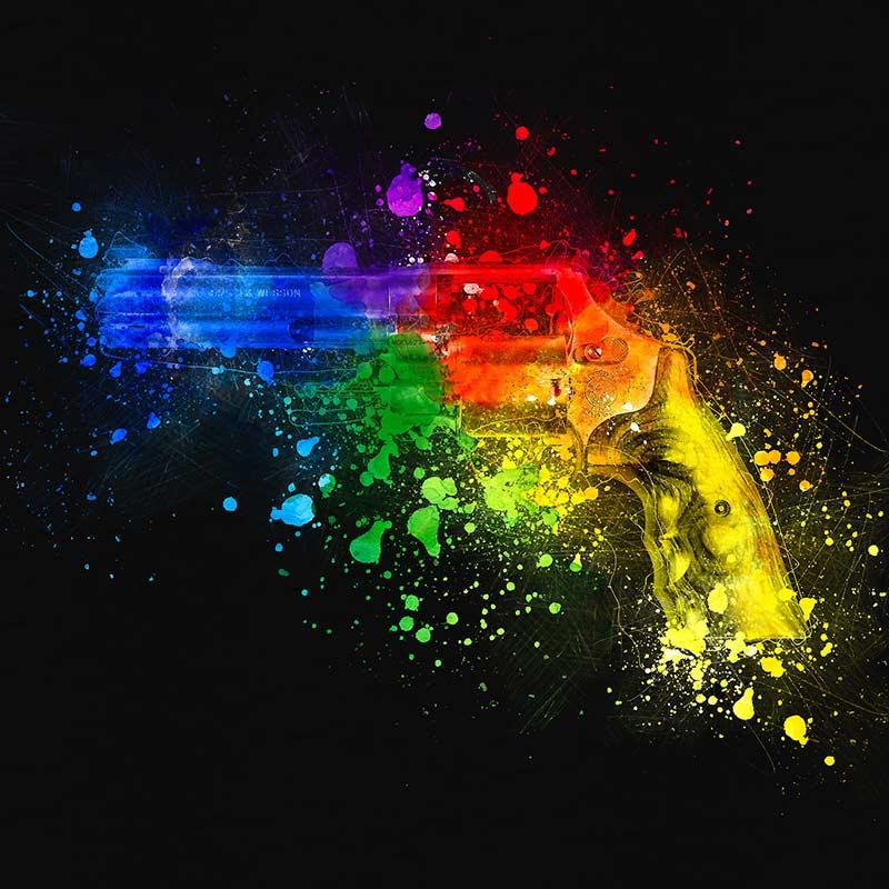 اکشن فتوشاپ تبدیل عکس به نقاشی آبرنگ Watercolor Photoshop