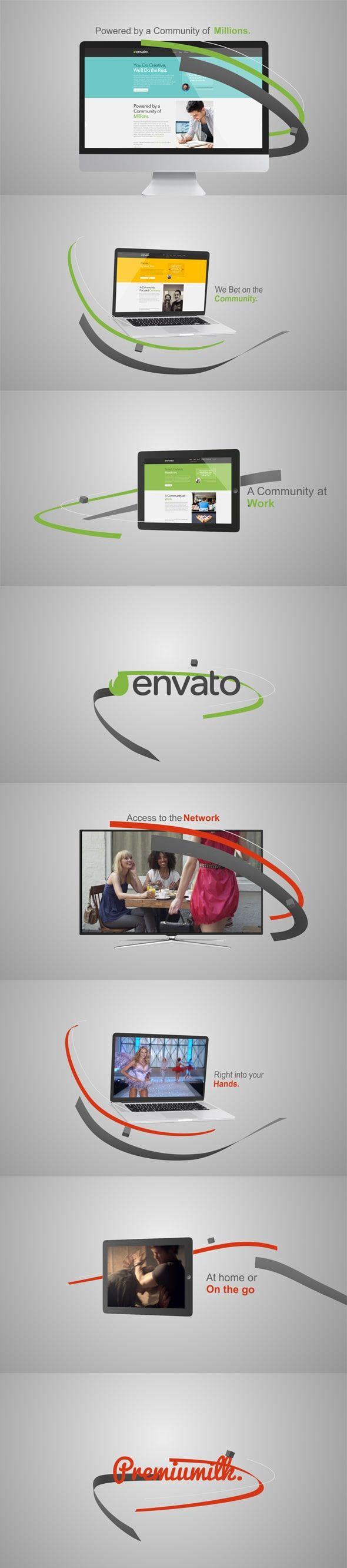 دانلود فايل پروژه افترافکت تیزر تبلیغاتی برودکست وب videohive: Web Broadcast Promo