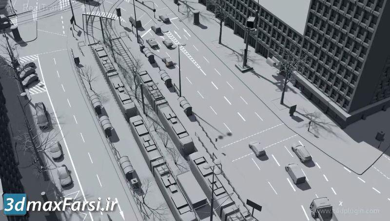 پلاگین شبیه سازی ترافیک سینمافوردی