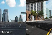 دانلود تصاویر اچ دی آر شهر آمریکا DOSCH HDRI: USA City Backplates
