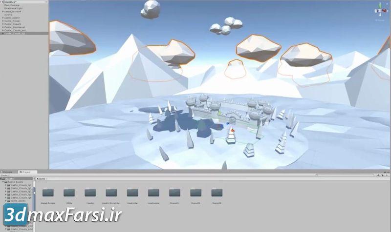 دانلود فیلم آموزش ساخت محیط بازی هودینی