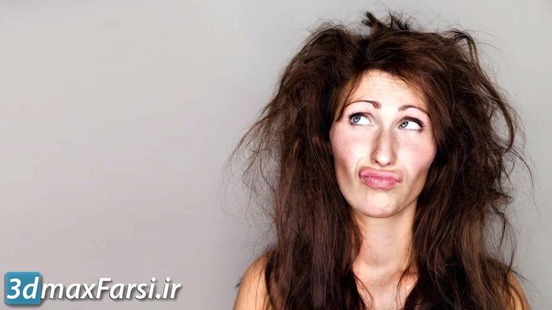 آموزش ماسک کردن فتوشاپ برای جداسازی مو Photoshop Masking Hairs
