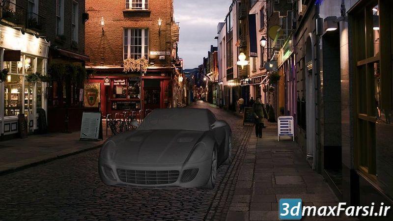 کامپوزیت مدل 3D به عکس با فتوشاپ Photoshop Compositing 3D Models