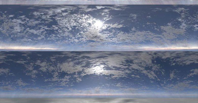 دانلود hdriابری تری دی مکس + ویری DOSCH HDRI Cloudy Skies