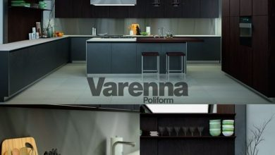 Photo of مدل سه بعدی کابینت مدرن Pro 3DSky – Varenna Poliform Twelve Kitchen