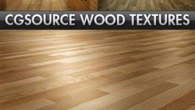 دانلود تکسچر چوببا کیفیت بالا CG Source Complete Wood Textures