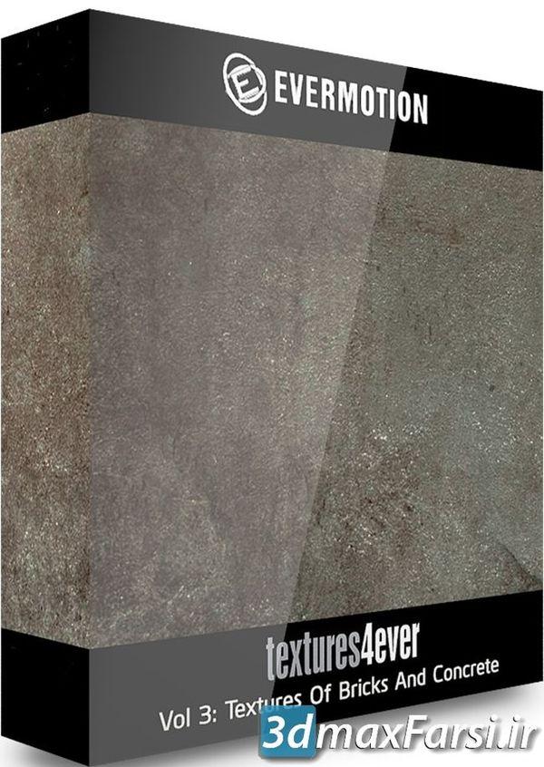 دانلود متریال و تکسچر آجر بتن چرک و آلودگی Evermotion Textures4ever vol 3