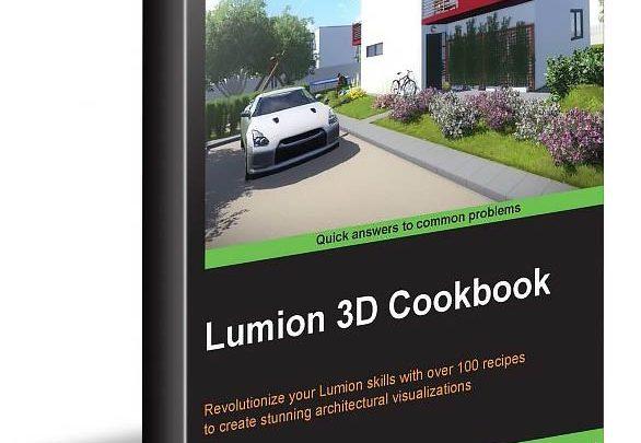 دانلود کتاب آموزش لومیون Pdf پی دی اف Lumion 3D Cookbook Ciro Cardoso