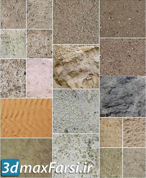 دانلود پکیج متریال زمین Tutsplus – 67 High-Res Ground Textures Pack