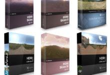 پکیج تصاویر اچ دی آر (سی جی اکیس) CGAxis – HDRI Maps Collection Volume 1-7