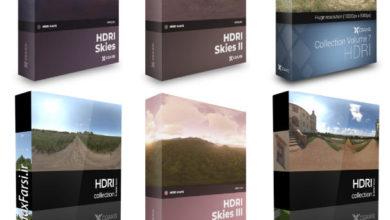 Photo of پکیج تصاویر اچ دی آر (سی جی اکیس) CGAxis – HDRI Maps Collection 1-7