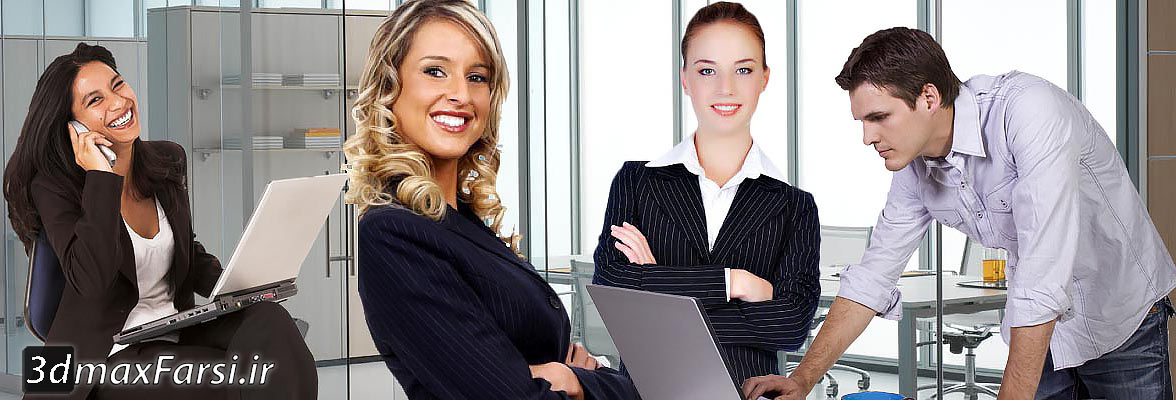دانلود پرسوناژ انسان فتوشاپ (در حال کسب و کار) Cut out People Business