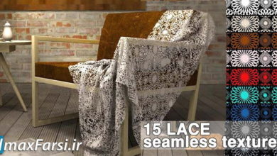 Photo of دانلود تکسچر پارچه قرمز (تکسچر پارچهگلدار) Lace fabrics textures seamless