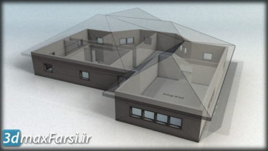 آموزش مدلسازی سه بعدی اتوکد 3D Modeling AutoCAD