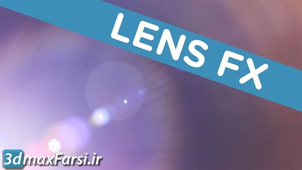 مجموعه ویدیوی موشن گرافیک افکت نشتی نور Lens FX