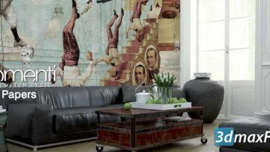 دانلود 22 تکسچر کاغذ دیواری خاص و هنری Wallpaper textures