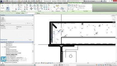 آموزش کامپونت رویت استراکچر Revit Structure Adding detail components