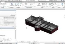 آموزش طراحی خرپا رویت استراکچر Revit Structure Howe trusses