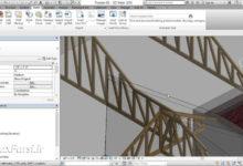دانلود آموزش سریع رویت استرکچر Revit Structure truss materials