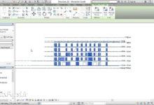 آموزش مانیتورینگ کپی (رویت استراکچر فارسی) Revit Structure Copy monitor