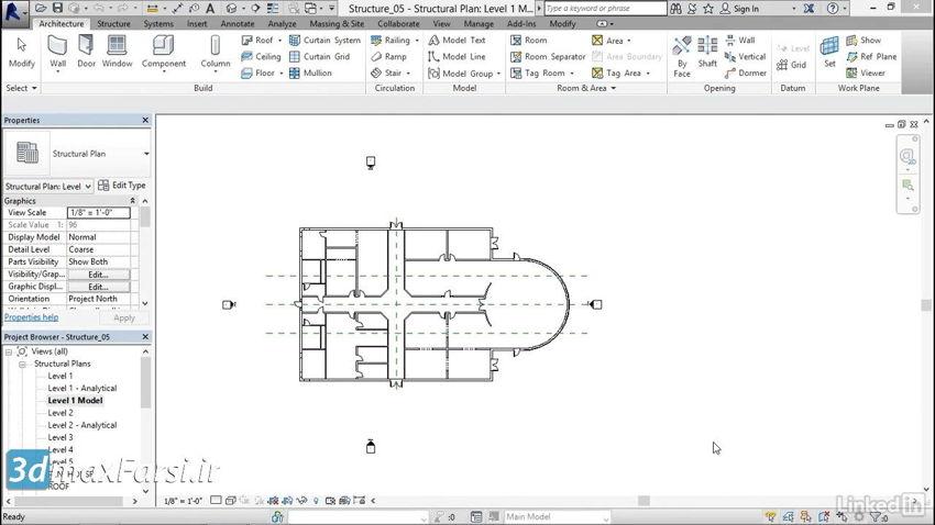 آموزش ساخت ویو تمپلیت (رویت استراکچر) Revit Structure Creating view templates