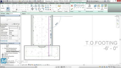 Photo of آموزش رویت استراکچر عمران نوین Revit Structure Sketching rebar