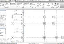 آموزش رویت استراکچر تگ کردن فوتینگ پلکانی Revit Structure Tagging step footing