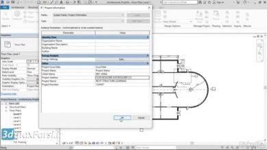 آموزش انتقال استاندارهای پروژه رویت استراکچر Revit Structure Transferring project standards