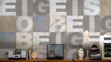 Photo of دانلود 12 تکسچر کاغذ دیواری نوشته انگلیسی و عدد (پوستر دیواری 3 بعدی)