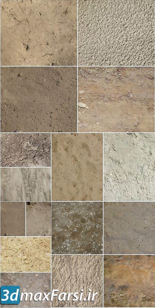 متریال زمین خاک شن ماسه High-Res Ground Textures Pack by Tutsplus