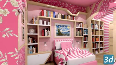 Photo of دانلود تکسچر کاغذ دیواری اتاق خواب (بدون درز) Fabrics texture seamless