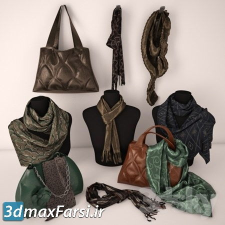 دانلود آبجکت Bags And Wraps
