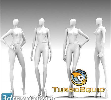 دانلود آبجکت مانکن TUROBSQUID 3D MANNEQUIN 401