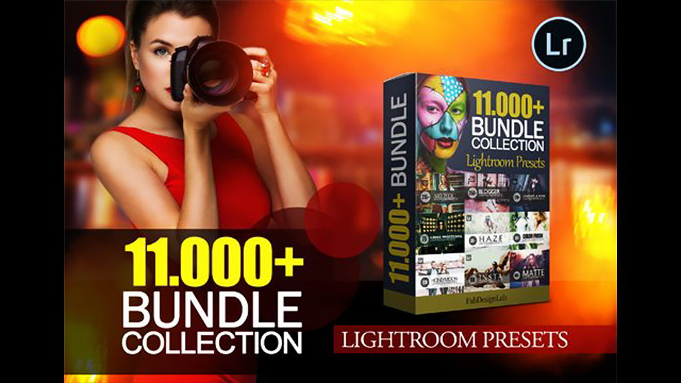 دانلود پکیج پریست لایت روم inkydeals 11.000+ Advanced Lightroom Presets Collection